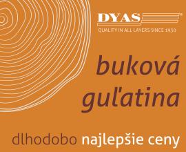 DYAS - buková guľatina