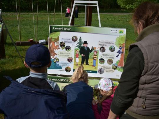 Cirkevní lesníci a lesná pedagogika: deti to baví a zaujíma