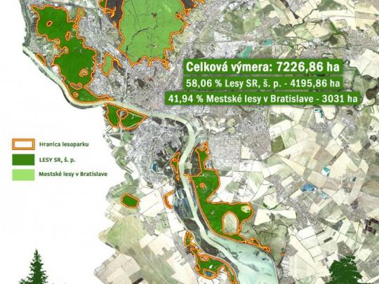 Dohoda hlavného mesta a LESY SR: Bratislava zaplatí štátnym lesom 322 000 eur ročne, tie budú z týchto peňazí aj budovať mokrade a liahniská pre obojživelníky