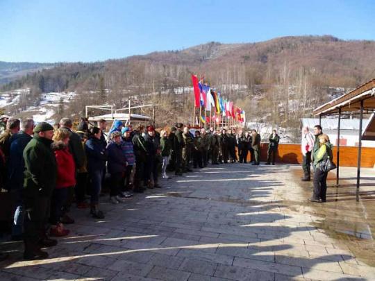 Mestskí lesníci súťažili na lyžiach