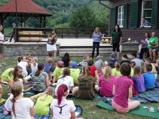 Deti zo Slovenska a z Česka si užili lesnícky tábor