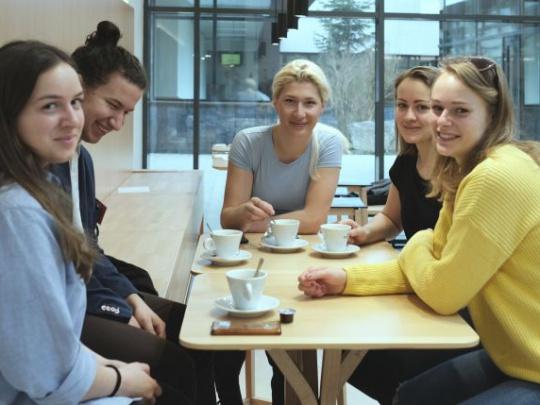 World Café s IFSA Slovakia