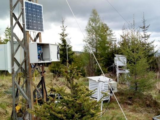NLC: Meteorologické údaje pre lesnícku prevádzku. Aj o podmienkach rojenia podkôrneho hmyzu