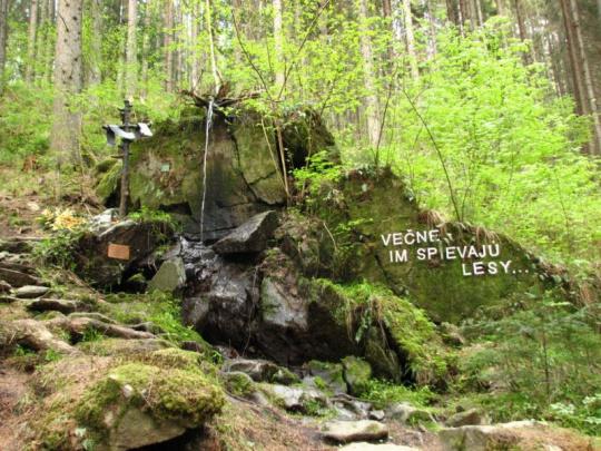 Spomienka na tých, ktorí zahynuli v lesov
