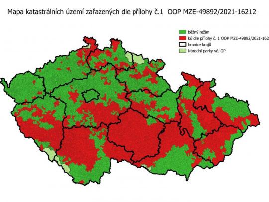 V Českej republike rozšírili červenú zónu silne zasiahnutú lykožrútom: Uvoľňujeme ruky vlastníkom lesov